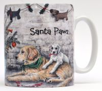 Mugs & Coasters- Santa Paws