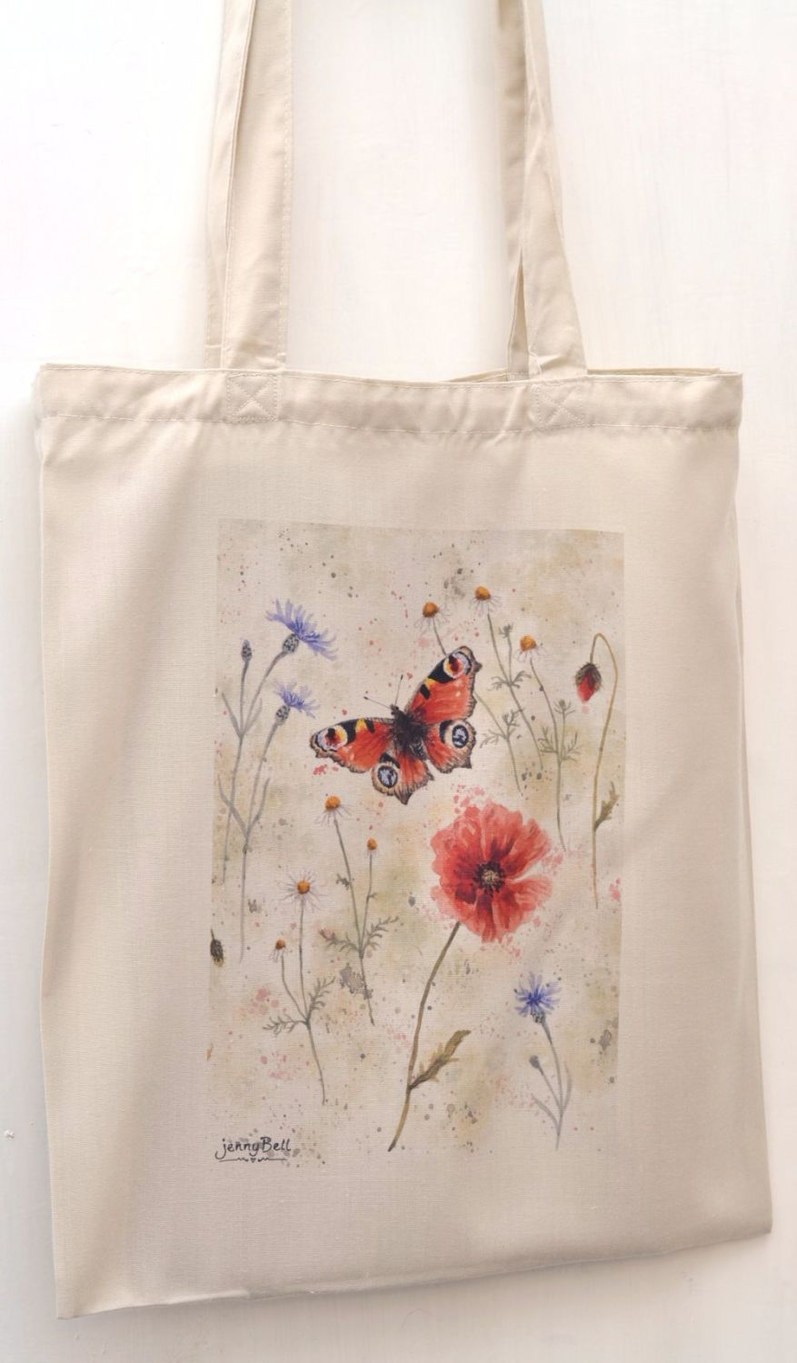 Bag - Peacock Butterfly