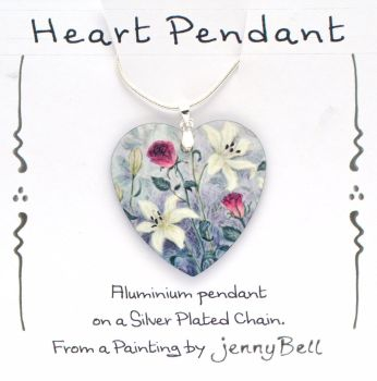 Pendant- Lilly & Roses
