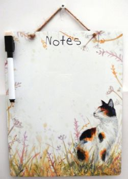 Dry-Wipe Board - Cat
