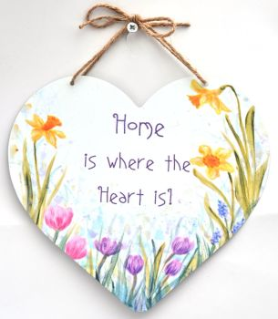Large Heart - Spring flowers