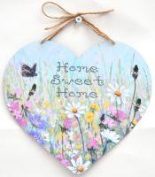 Large Heart - June Flowers