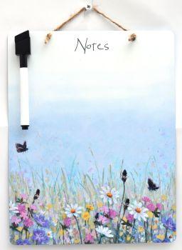 Dry-Wipe Board - June Flowers Mix