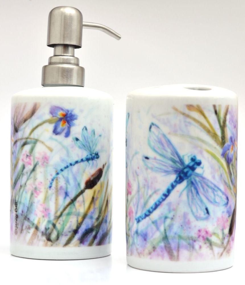 Bathroom Set -Dragonfly