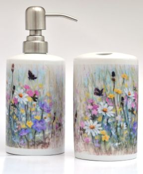 Bathroom Set - June Flower Mix