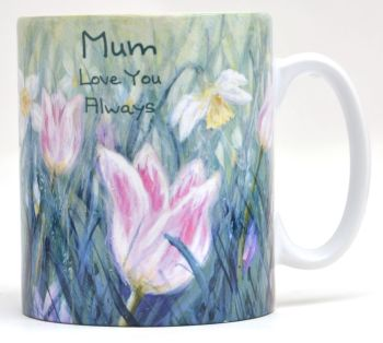 Mugs & Coasters-Tulips & Daffodils