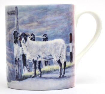 Mug or Coaster-Moors Sheep