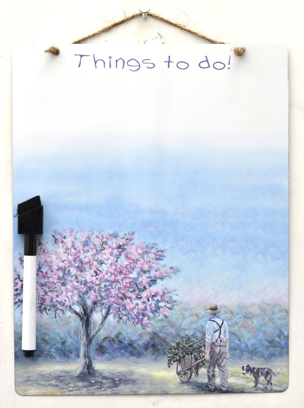 Dry-Wipe Board - Spring Clean