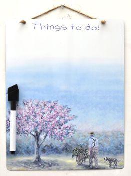 Dry-Wipe Board - Spring Clean