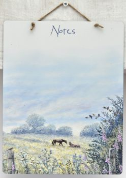 Dry-Wipe Board - Horse Meadow