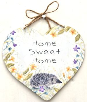 Large Heart - Spring Hedgehog