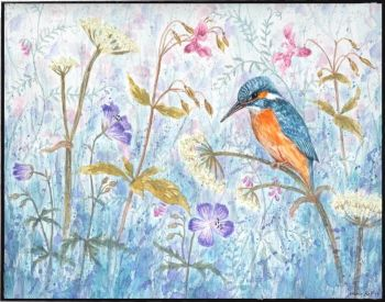 Original Painting - Kingfisher
