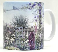 Mug or Coaster-Terraced Garden