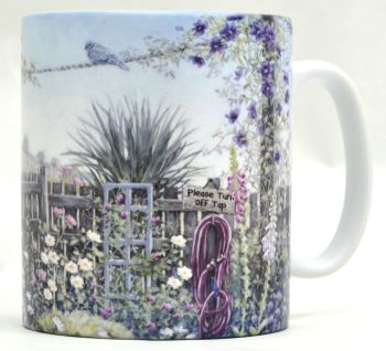 Mug or Coaster-Terraced Garden