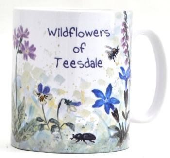 Mugs or Coasters-Northern Pennines Flowers