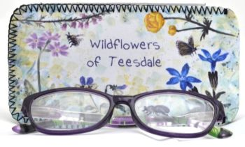 Glasses Case - Wild Flowers of the Pennines
