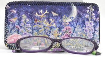 Glasses Case - Midnight Garden