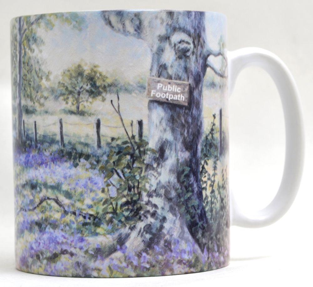 Mugs & Coasters - Bluebell Wood