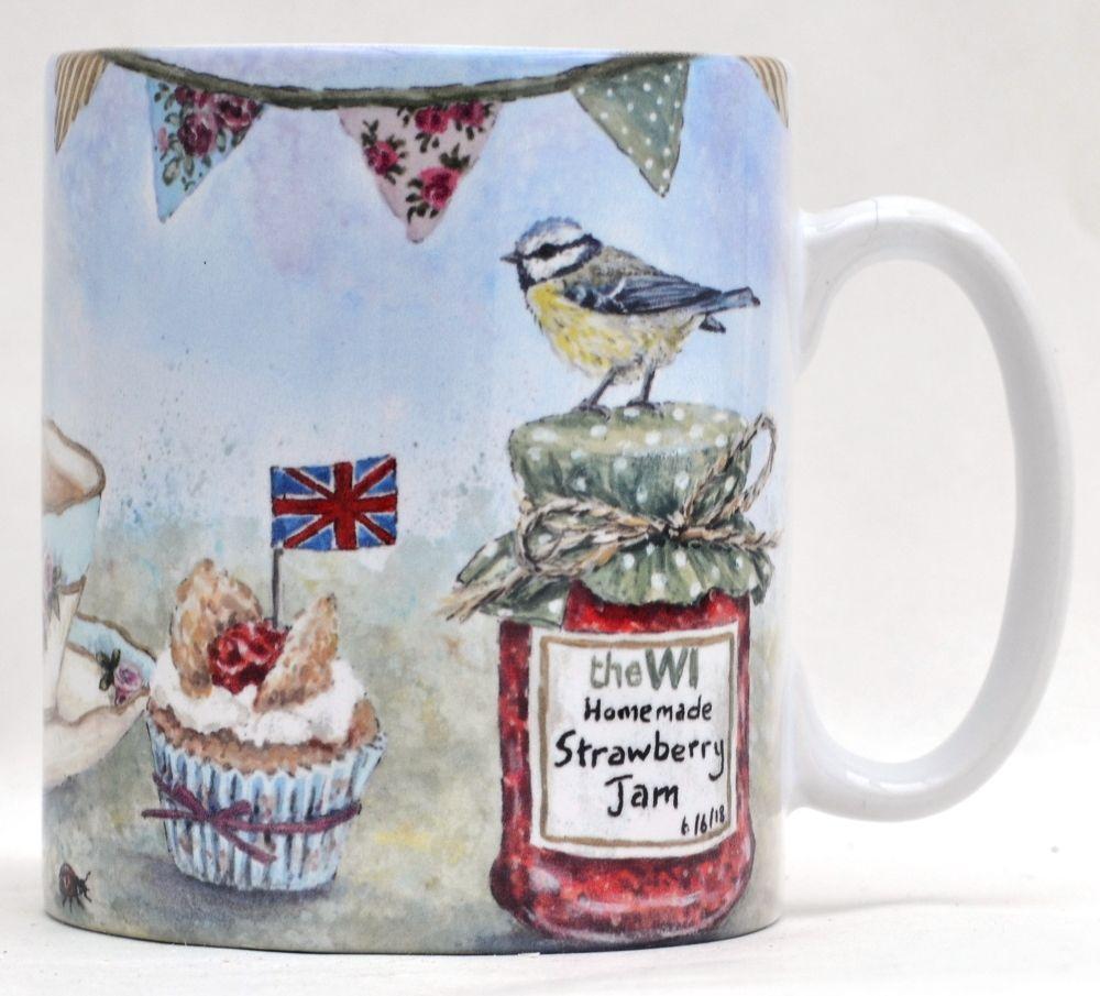 Mug or Coaster- Garden Party