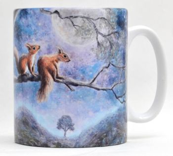 Mugs & Coasters - Moon Squirrels
