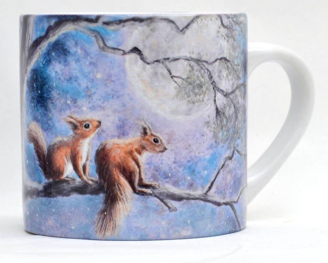 Child's Mug-Moon Squirrels