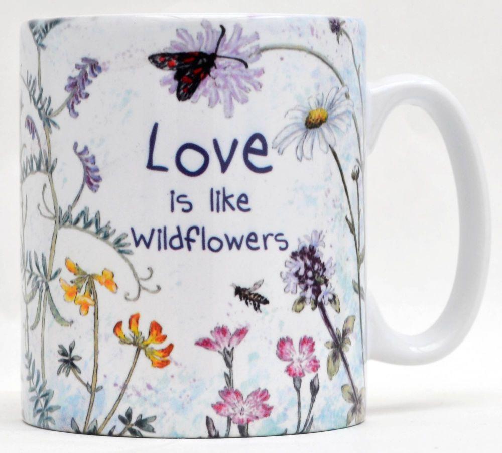 Mugs or Coasters- Love Wildflowers