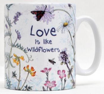 Mugs or Coasters- Love Wildflowers