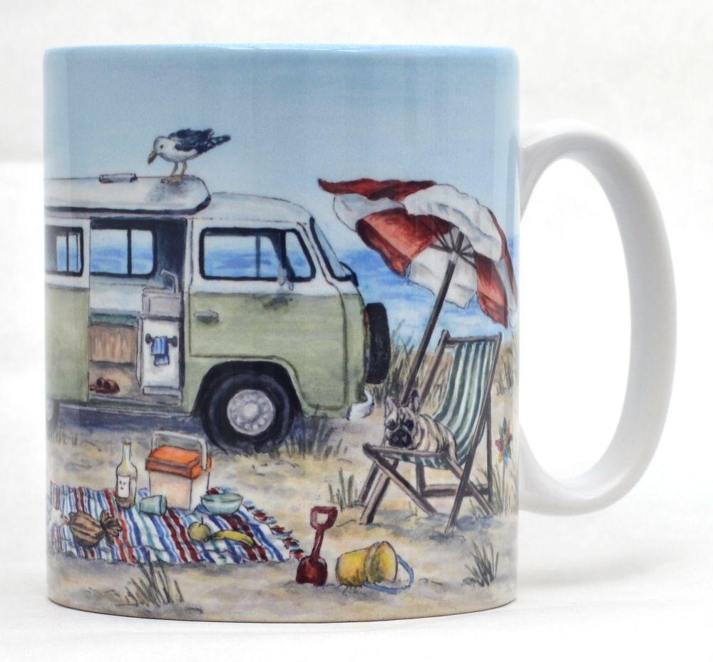 Mugs & Coasters-Campervan