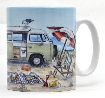 Mugs & Coasters - Campervan