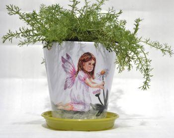 Plant Pot - Daisy Fairy