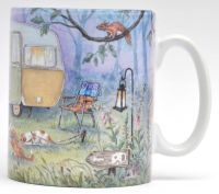Mugs & Coasters - Caravan in the woods