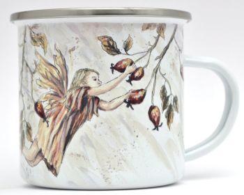 Enamel Mug - Rosehip Fairy
