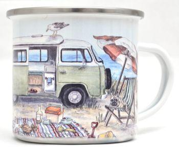 Enamel Mug - Campervan