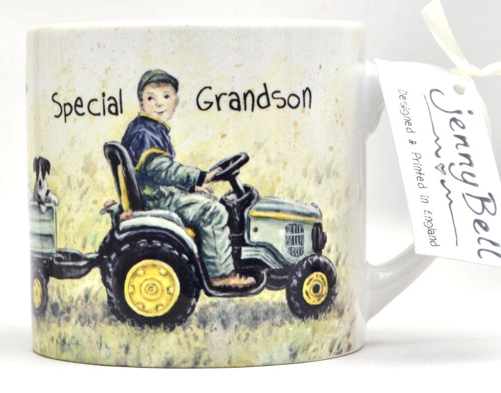 Childs Mug-Tractor Boy