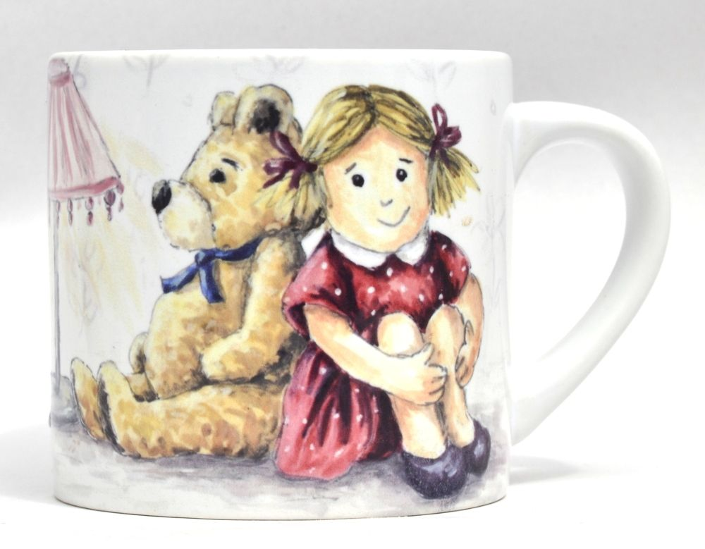 Child's Mug-Doll & Ted