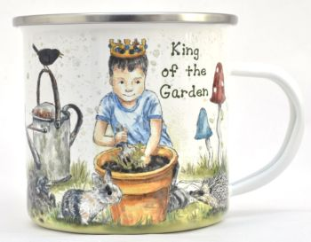 Enamel Mug - King of the Garden