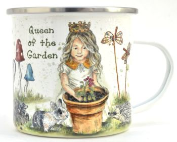 Enamel Mug - Queen of the Garden