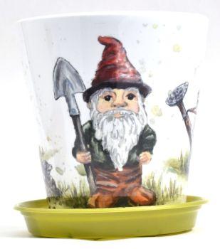 Plant Pot - Gnome