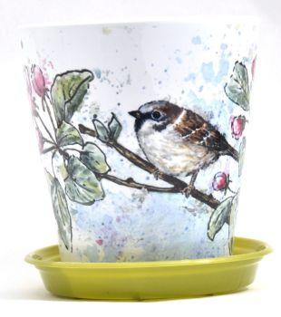 Plant Pot - Sparrow