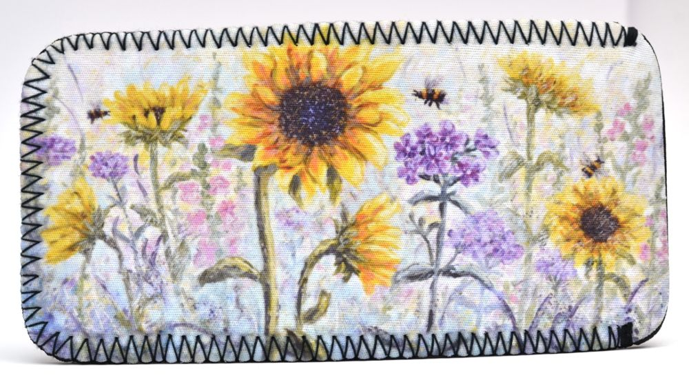 Glasses Case - Sunflowers