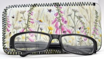 Glasses Case - Foxgloves