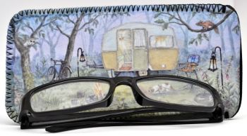 Glasses Case - Caravan