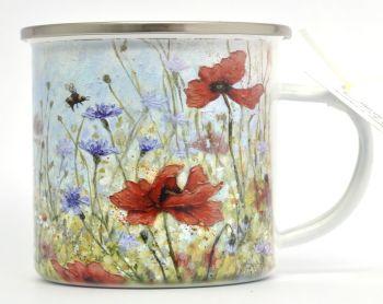 Enamel Mug - Poppy