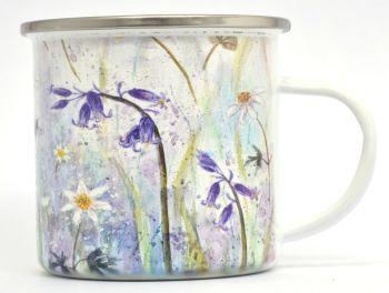 Enamel Mug - Bluebells