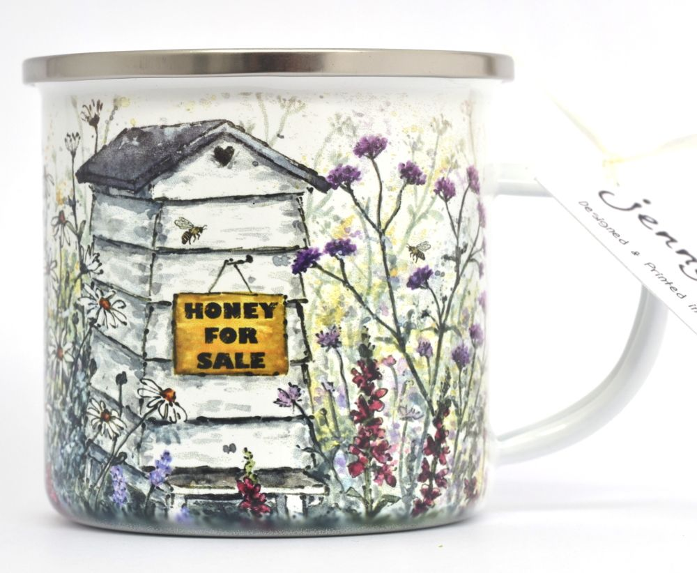 Enamel Mug - Beehive