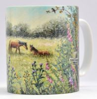 Mugs & Coasters-Horse Meadow