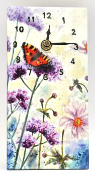 Wall Clock - Verbena
