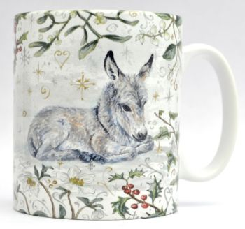 Mugs & Coasters- Winter Berries - Donkey