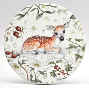 Mugs & Coasters- Winter Berries - Fawn