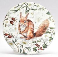 Mugs & Coasters- Winter Berries - Red Squirrel